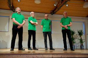 Varttuneempia PK-veljiä edusti KBT-kvartetti
